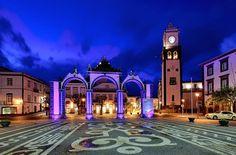 The Portas da Cidade (Gates to the City) of Ponto Delgada. Photo by Visit Azores