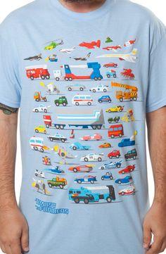 Autobots Vehicles Shirt: 80s Cartoons Transformers, Autobots T-shirt