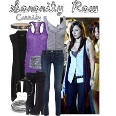 Sorority Row #SororityRow #BrianaEvigan #CassidyTappan Briana Evigan, Sorority Row, The Row, Luxury Fashion, Outfits, Shopping, Collection, Design, Suits