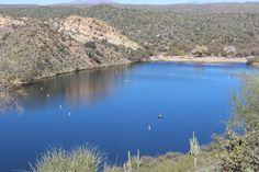 One of the coves of Saguaro Lake, AZ :)