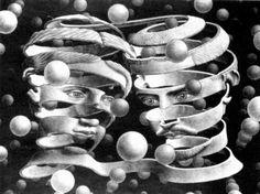 M C Escher Tessellation Layout | Original Creators: M.C. Escher