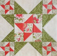 Around the Block -Round Robin Quilt Along
