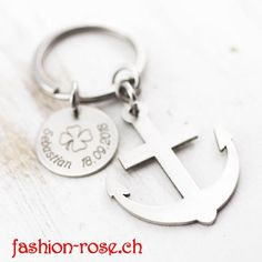 ANKER geschenkideen persönlich graviert Personalized Items, Style, The Last Song, Anchor, Stainless Steel, Gifts, Swag, Outfits