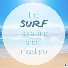 """@lovesurf's photo: """"The surf is calling and I must go #surf #beach #ocean #openairsaturday #lovesurf #lovesurflife"""""""