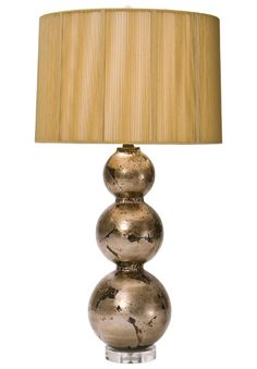 TNL Amhurst Table Lamp with Gold String Drum Shade