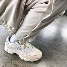 Would you wear these? High Fashion Cozy Dad Vibes • Raf Simons Ozweego Bunny worn by @JacobJKeller #NiceKicks