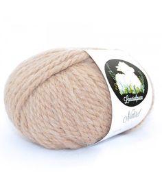 Купить Пряжа Lanasalpaca (Испания) ALPACA 100 % NATIREL - альпака, комбинированный, альпака 100%