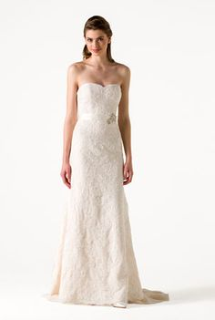 Eden | http://www.annebarge.com/collections/spring-2015-blue-willow-bride | by Anne Barge