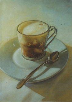 © Kaj Stenvall | Loreta | Flickr Finland, Kai, Tea Cups, Illustrations, Beautiful, Frames, Illustration, Cup Of Tea, Illustrators