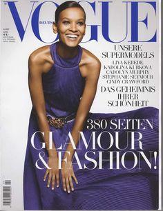 Liya Kebede for Vogue Germany April 2007