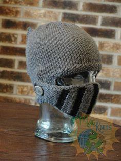 Ravelry: Sir Knight Helmet - KNIT pattern by Martina Gardner