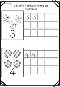 Montessori Math, Kindergarten Math Activities, Preschool Math, Math Addition Worksheets, Kids Math Worksheets, Simple Math, Basic Math, Math Games For Kids, Writing Numbers