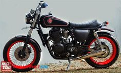 Motor CB Modifikasi Jap Style