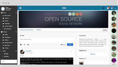 Create your own social network website - opensource-socialnetwork.org