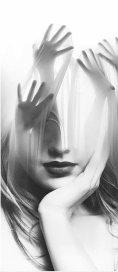 Rearranging her thoughts........Dream Portraits by  Antonio Mora