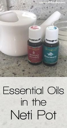 Essential Oils in the Neti Pot: My Favorite Blend - Oh Lardy