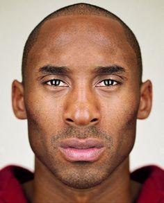 Kobe up close...
