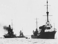 Nagato, Mutsu, and Tatsuta, 1927