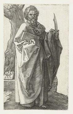 """""""St. Bartholomew"""" (1523) - Albrecht Dürer (1471-1528)"""