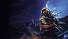 LoL - Ninja Rammus by Knockwurst on DeviantArt