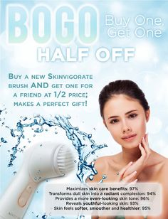 Order your MK Skinvigorate Cleansing Brush from me today, get the 2nd one half off!!!!