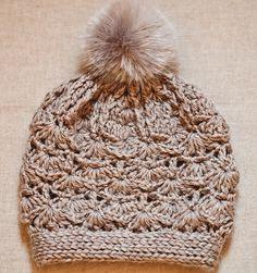 Ravelry: Faux Fur PomPom Hat pattern by Mon Petit Violon