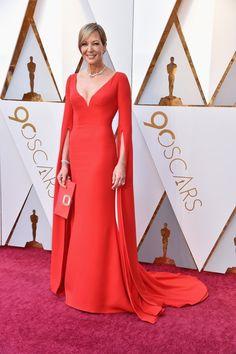 Allison Janney In Reem Acra – 2018 Oscars