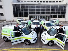 Silicon Republic - Dublin Airport Authority adds electric vans to fleet Electric Van, Dublin Airport, Airports, Technology News, Discovery, Ireland, Vans, Author, Social Media