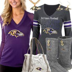 Cute Baltimore Ravens Fan Gear