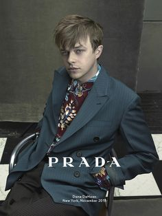 First look: Dane DeHaan for Prada man spring/summer 2014