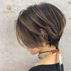 Pixie Haircut For Thick Hair, Longer Pixie Haircut, Short Bob Thick Hair, Short Messy Bob, Short Choppy Bobs, Short Shaggy Bob, Pixie Bob Haircut, Short Hairstyles For Thick Hair, Curly Hairstyles