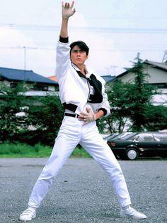 Superhero Tv Series, Showa Era, Kamen Rider Series, Cultura Pop, Costume Design, White Jeans, Poses, Geek, Ac Milan