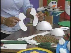 Jeanneth Oropeza. Revistero de Ideas. Muñeco de Nieves 1/2 - YouTube Christmas Crafts, Christmas Decorations, Garden Projects, Ideas Para, Snowman, Candles, Make It Yourself, Handmade, Diy