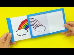 Magic sliding window card ~ video demo by KKTV. Try facilitating it with papercraft tools like scoreboard, tape runner, runner stamps :-) Magic Tricks For Kids, How To Make Magic, Making Greeting Cards, Greeting Cards Handmade, Magic Crafts, Rainbow Magic, Window Cards, Card Tricks, 3d Cards