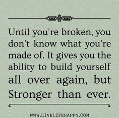 Stronger than ever!