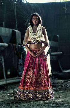 Ritu Kumar Bridal Collection 2013 by Tarun Khiwal Photography Indian Attire, Indian Wear, Indian Style, Indian Ethnic, India Fashion, Asian Fashion, Indian Dresses, Indian Outfits, Ritu Kumar Bridal