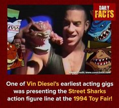 Daily Facts, Vin Diesel, Action Figures, Acting