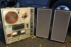 Vintage Sony Reel To Reel With Speakers Model TC630 by ahindle78, $400.00