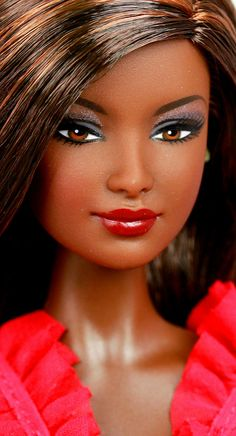 Go Red For Women Barbie by DivaLuvv, via Flickr