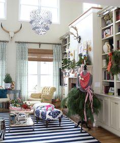Christmas House Tour via lifeingrace #easyholidayideas