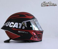 AGV HELMET DESIGNED BY HUGSTICKER
