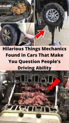 #Hilarious Things #Mechanics Found in Cars That Make You #Question People's Driving #Ability