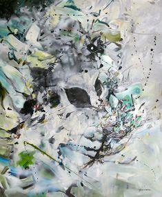 Potron-minet - par Geneviève Pratte  #abstractart #abstractpainting #peinture #painting #art #artist #artwork #artiste #artgallery #galeriedart Art Gallery, Painting, Artwork, Plants, Abstract Backgrounds, Toile, Paint, Art Museum, Work Of Art
