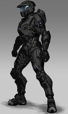 Halo Spartan Armor, Halo Armor, Armor Concept, Concept Art, Game Character, Character Concept, Odst Halo, Halo Cosplay, Halo Master Chief