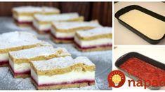 Linecký tvarohový koláč s marmeládou: Úžasný dezert na každú príležitosť – nesmie chýbať ani na sviatky! Krispie Treats, Rice Krispies, Vanilla Cake, Ale, Petra, Food, Basket, Ale Beer, Essen