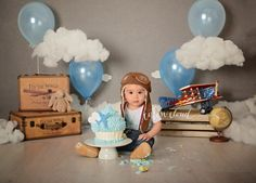 Sydney campbelltown cake smash photographer