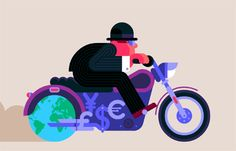 Robin Davey created wonderful + colorful illustrative animating gif, which are unique and as Tumblr upgrade their system of Gif scale and creative ideas merged in this post.