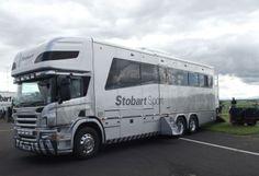 Eddie Stobart -Sport - horse transporter. Train Truck, Road Train, Bus Camper, Eddie Stobart Trucks, Horse Transport, Automobile, Fan Picture, Volvo Trucks, Horse Trailers