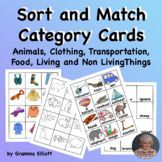 Sort and Match Picture and Word Cards in Categories K-2 Cooperative Learning, Student Learning, First Grade Lessons, Teaching Resources, Teaching Materials, Reading Specialist, Reading Intervention, Special Education Classroom, Picture Cards