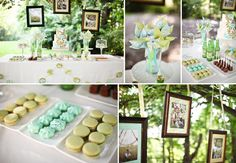 Love this entire wedding color scheme